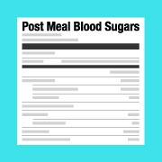 Tips for Improving Post Meal Blood Sugars