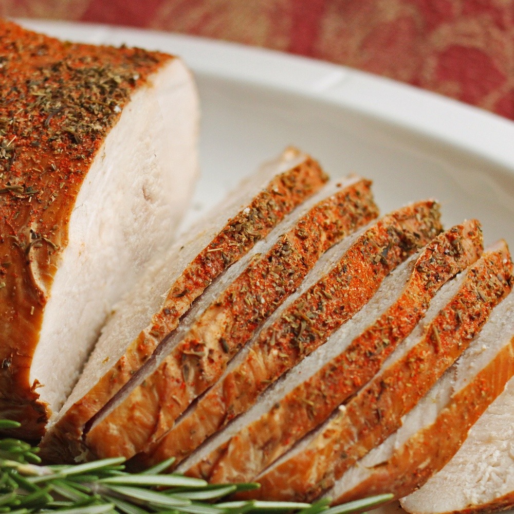 smoked herb crusted turkey breast jpg 1080x810