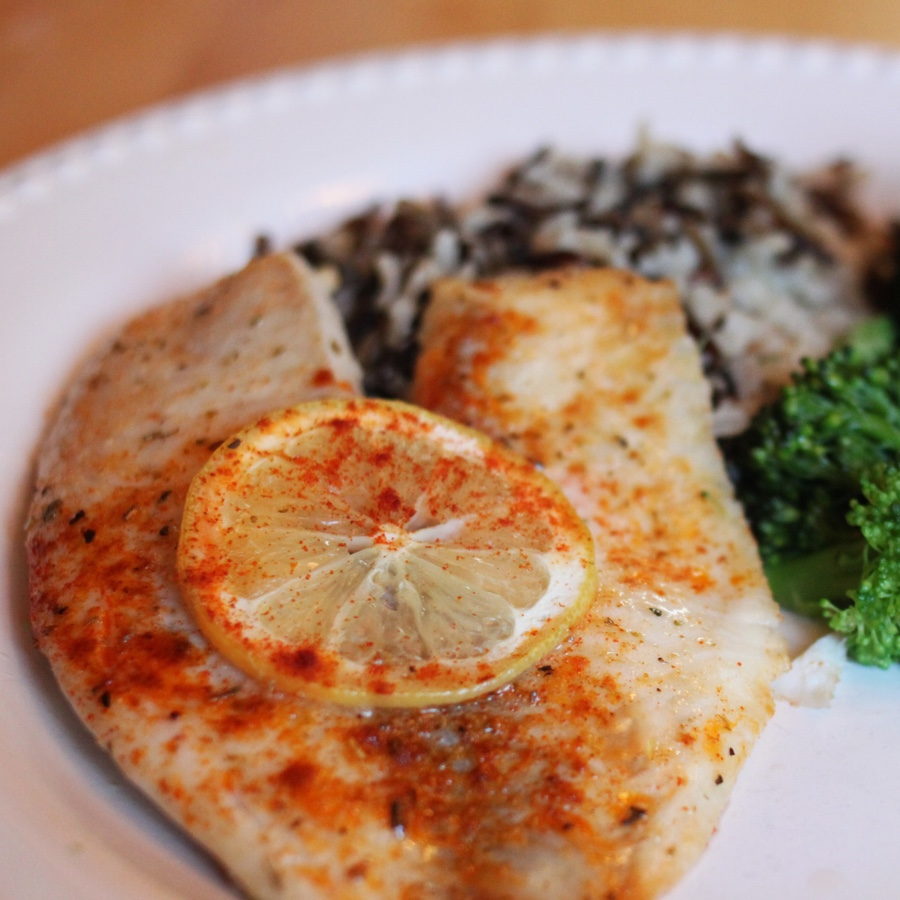 Baked Tilapia with Lemon
