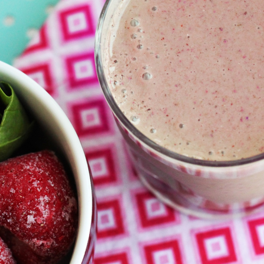 Berries and Greens Smoothie