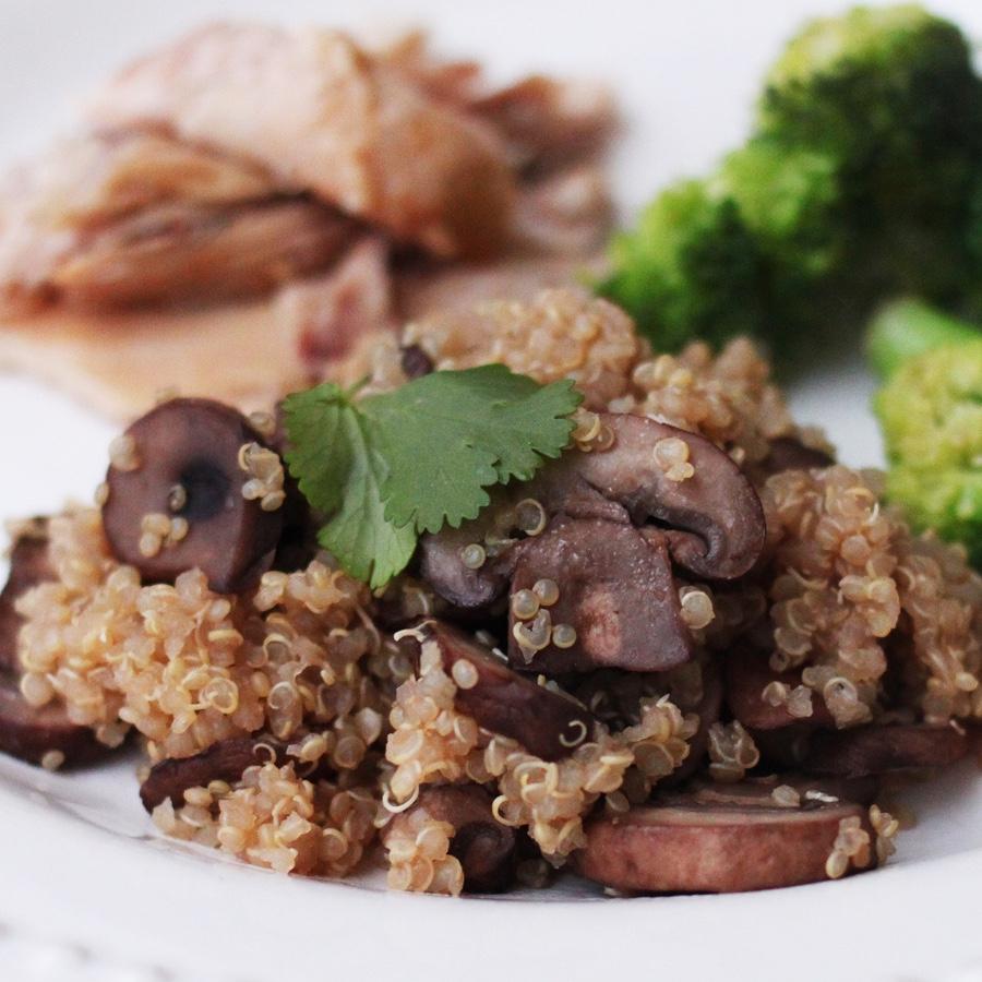Mushroom Quinoa image