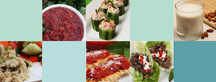 Creative and delicious low-carb substitutes