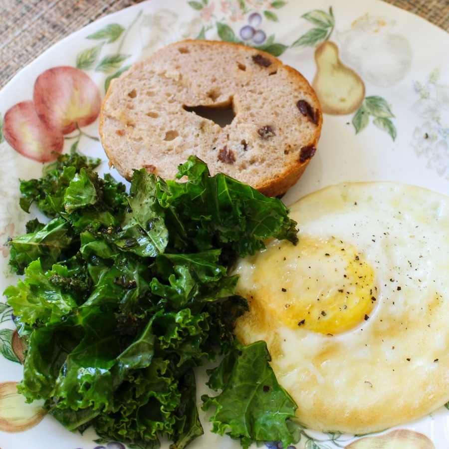 Kale and Egg Breakfast