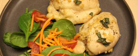 Garlic and Basil Chicken image
