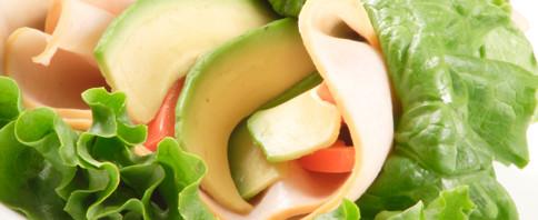 Turkey Lettuce Wrap Sandwich image