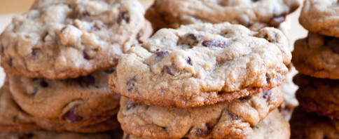 Peanut Butter Carob Chip Cookies image