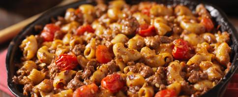 Pasta and Hamburger Casserole image