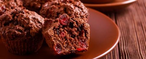 Cherry Grain Muffins image