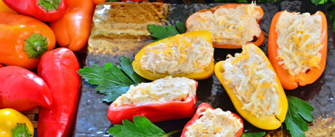 Stuffed Baby Bell Peppers image