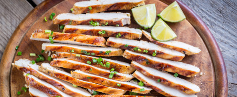 Baked Limey Chicken image