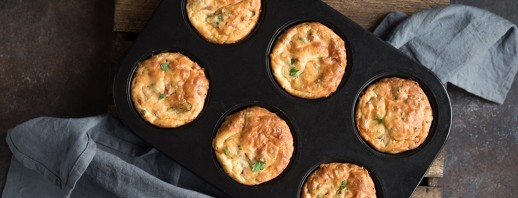 Turkey Bacon Muffin Cups image