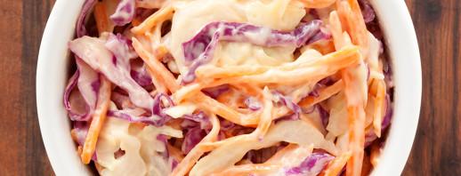 Purple Cabbage Slaw image