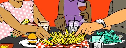 Diabetes and Bar Food image