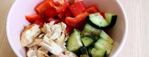Chicken Veggie Bowl image