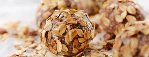 Peanut Butter Oat Balls image