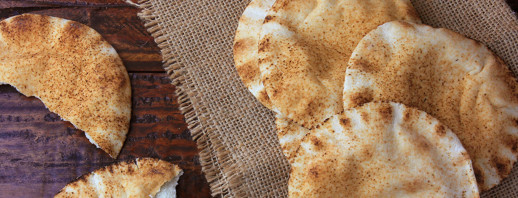 Toasted Peanut Butter Pita image