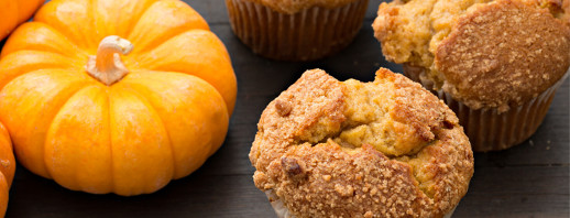 Snow Day Pumpkin Muffins image