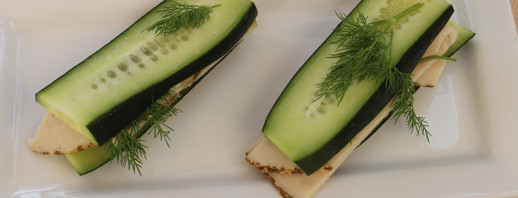 Cucumber Sandwiches image