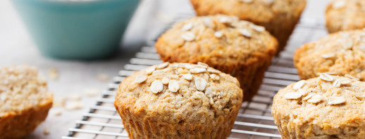 Whole Wheat Cheddar Muffins image