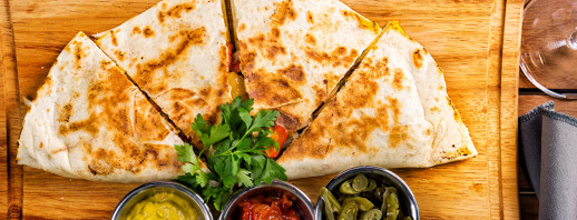 Grilled Bell Pepper Quesadilla image