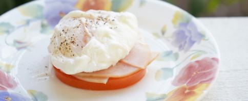 Low-Carb Eggs Benedict image