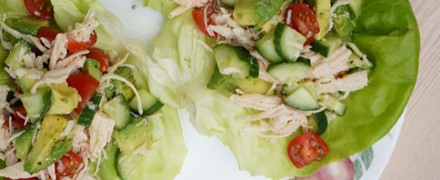Chicken Taco Lettuce Wraps image