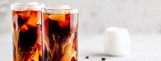 Vanilla Almond Iced Coffee image