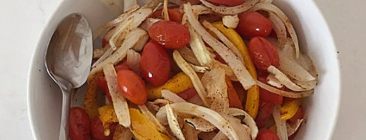 Roasted Fajita Vegetables image