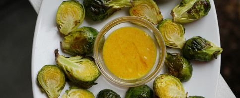 Brussels Sprouts With Dijon Aioli image