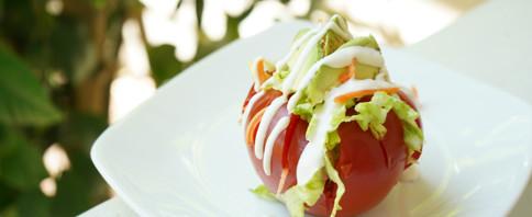 Tomato Wedge Salad image