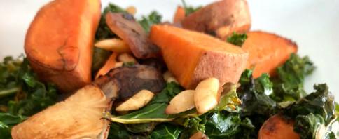 Sweet and Savory Kale Side image