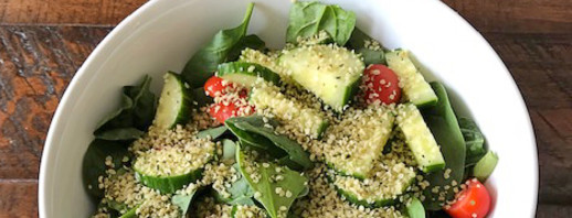 Hemp Hearts Salad image