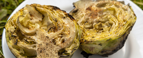 Balsamic Roasted Cabbage image