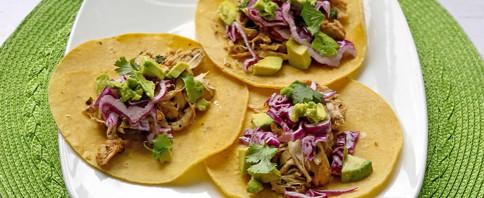 Zesty Chicken Instapot Tacos image