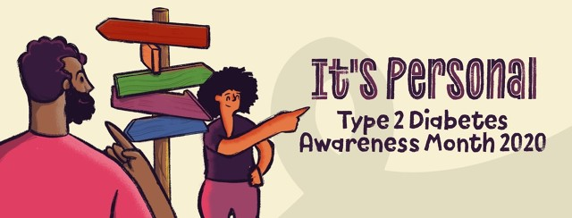 It's Personal: Type 2 Diabetes Awareness Month 2020 image