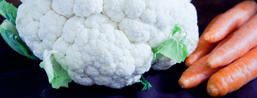 Steamed Carrots and Cauliflower image