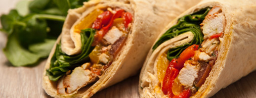Grilled Chicken Wrap image