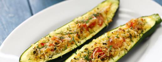 Zucchini Tomato Boats image