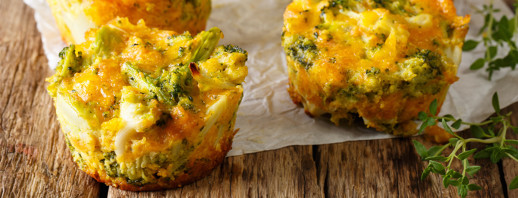 Make-for-Later Broccoli Egg Muffins image