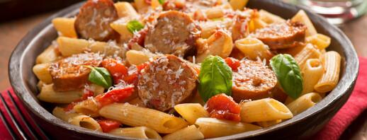 One Pot Chicken Sausage Pasta image