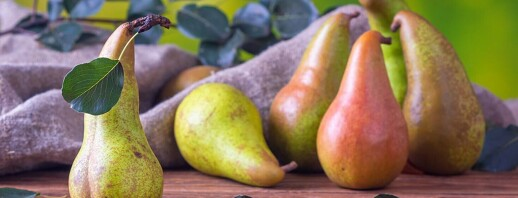 Sweet and Nutty Pears image