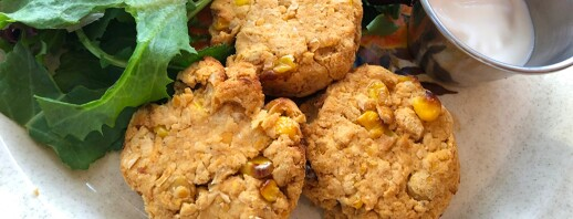 Chickpea Corn Fritters image