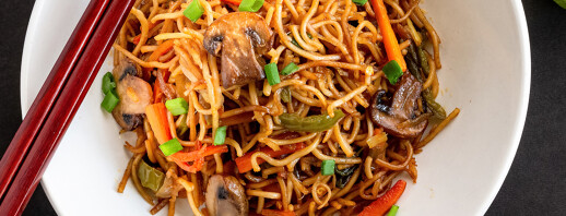 Quick, Easy, and Affordable Vegan Lo Mein image